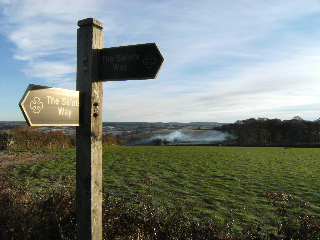 Saints Way Signposts